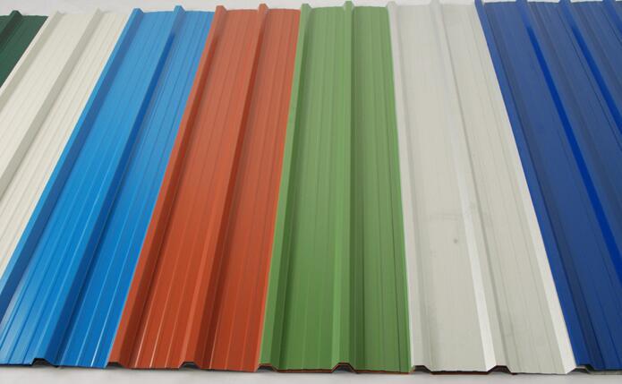 Colour Coated Aluminium Roofing Sheets