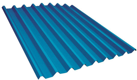 Trapezoidal Aluminum Roofing Sheet