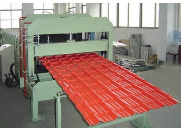 step tiles aluminium roofing sheet